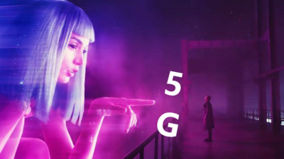 5G industrial applications - video entertainment
